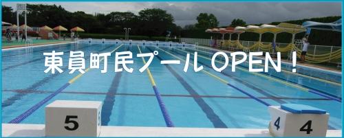 Townspeople pool OPEN!